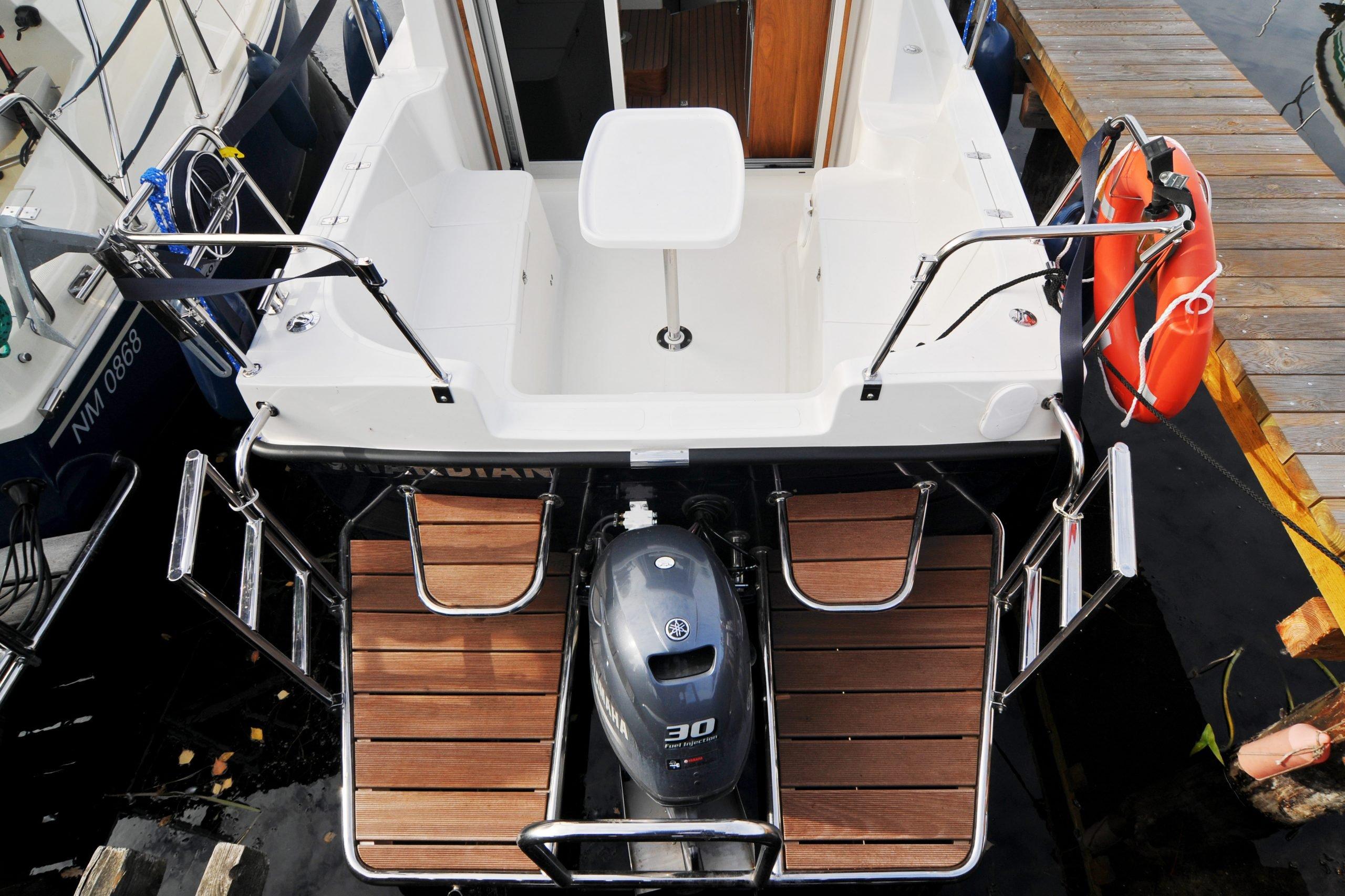 Jak cumować jacht